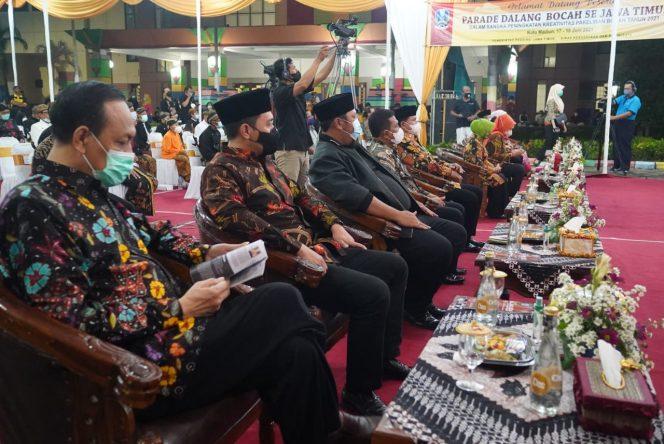 Peringati Hari Jadi ke-103 Tahun, Pemkot Madiun Gelar Parade Dalang Cilik Secara Virtual