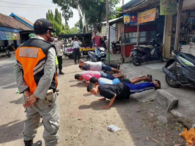 Tekan Lonjakan Kasus Covid-19, Satpol-PP Kabupaten Madiun Lakukan Operasi Penertiban Secara Berkala