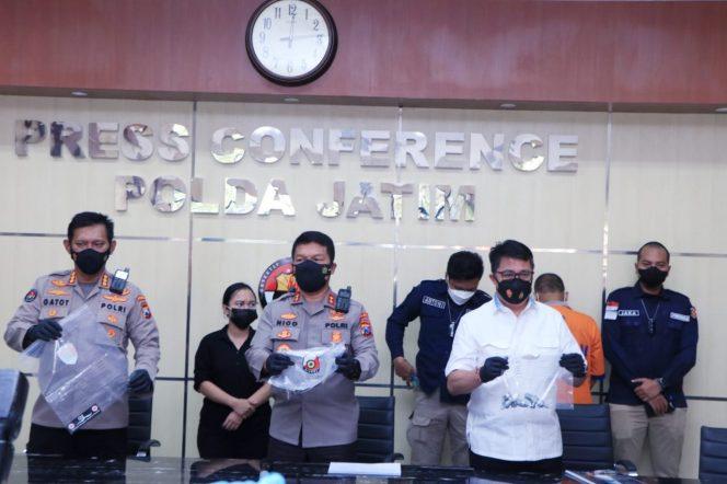 Polda Jatim Bongkar Penjualan Tabung Oksigen Palsu di Surabaya